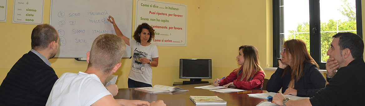 Group courses Conte Ruggiero School